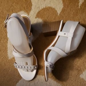 Enzo Angelini leather sandals